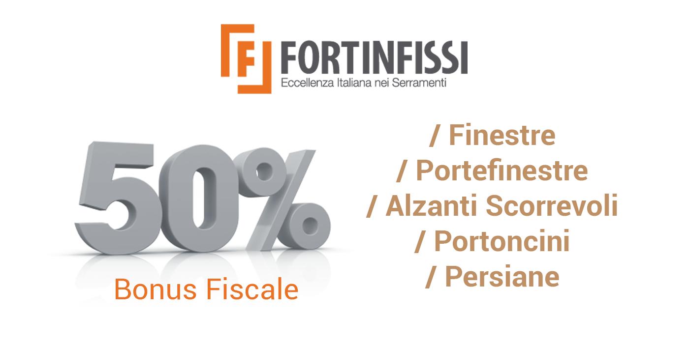 Fortinfissi Bonus Fiscale 50%